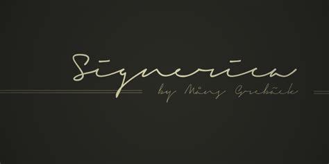 dafont signature signerica art et design