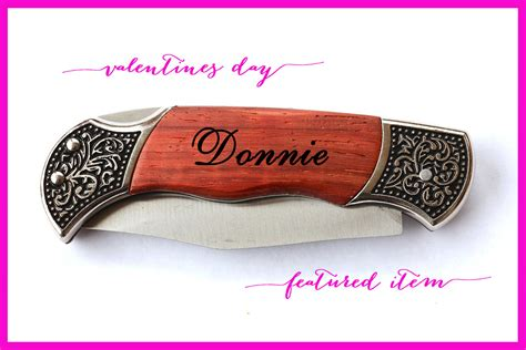 personal valentines gifts for him valentines day gifts for him personalized knife for