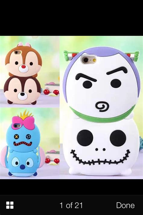 Stiker Tsum Tsum Disney 3d Timbul 3d disney tsum tsum style silicone soft back buzz light year and skellington and