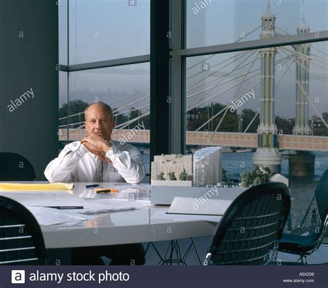 architects and designers sir norman foster at his desk portraits of architects and