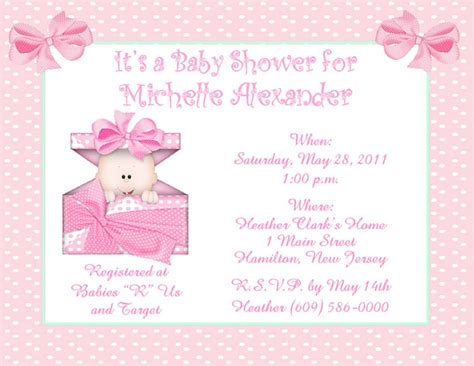 Baby Shower Invitations by Baby Shower Invitation Baby Shower Invitations