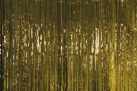 gold curtain metallic door curtain gold the party stop