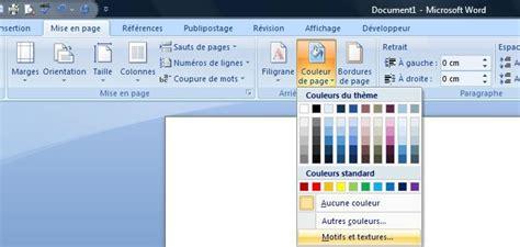 layout en word ins 233 rer une image en arri 232 re plan sur une ou plusieurs