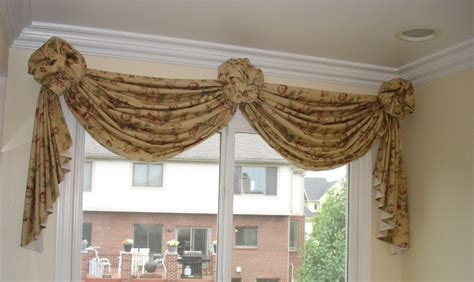 Swag Valances For Windows Designs Swags With Rosettes 187 Susan S Designs