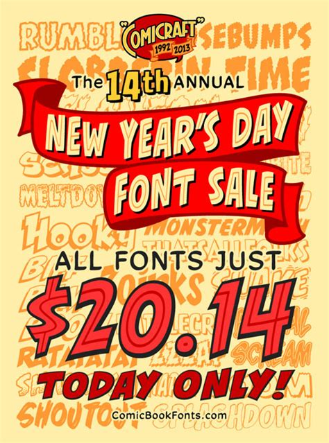 new years day sale new year s day font sale