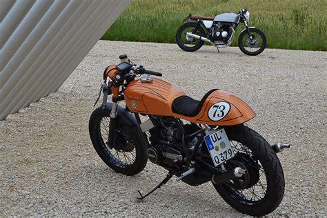 Motorrad Auspuff Unter Sitz by Yamaha Rd 250 Cafe Racer Hei 223 E 73 Pascal Locher