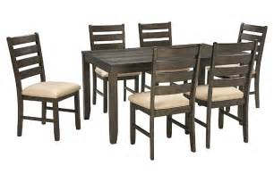 Dining Room Table For 2 Rokane Dining Room Table And Chairs Set Of 7 Furniture Homestore