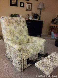 How To Reupholster A Reclining Sofa by 1000 Ideas About Recliner Cover On Slipcovers