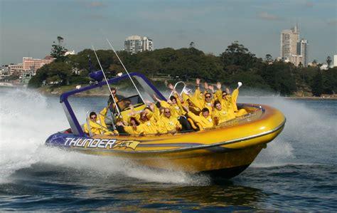 jet boat for sale sydney our boats thunder jet boat sydney