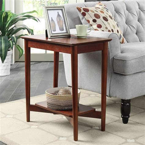 Mahogany Side Tables Living Room End Table In Mahogany 7303045