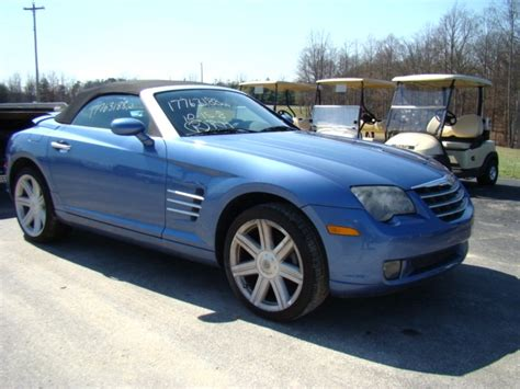 2005 Chrysler Crossfire Parts by Used Rv Parts 2005 Chrysler Crossfire Roadster Salvage