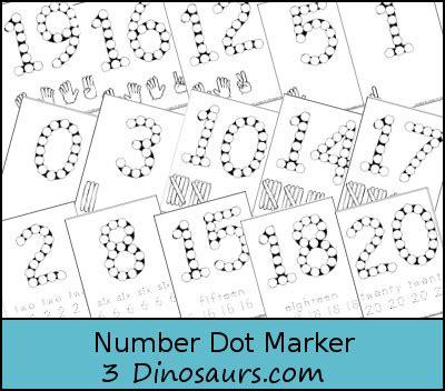 Tensai Number Random Dot number dots printables number dot to dot printables