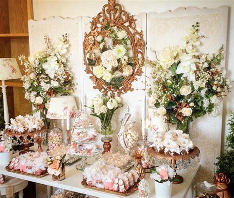 Floral Themed Baby Shower by Floral Decorations For Baby Showers