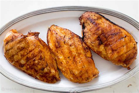 how to grill juicy boneless skinless chicken breasts simplyrecipes com