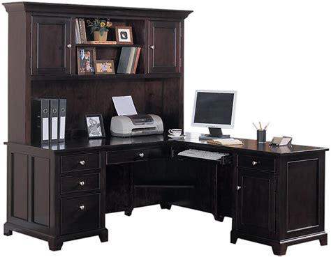 White L Shaped Desk With Hutch Freedom To White L Shaped Desk With Hutch