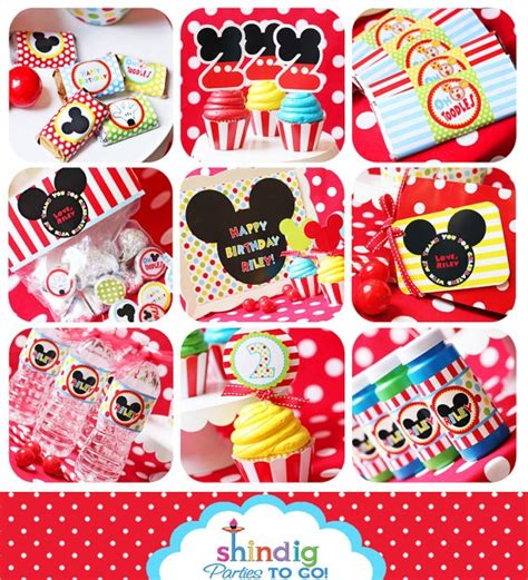 mickey mouse clubhouse printable birthday decorations mickey mouse party printable birthday clubhouse