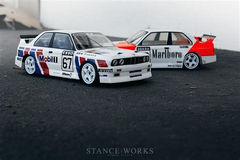 livery bmw tipping the scales to 1 10 our hpi rs4 sport 3 e30 m3