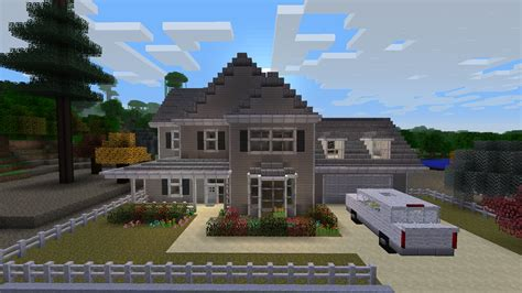 minecraft cool house design epic minecraft house done in the style of a treehouse description from pinterest com