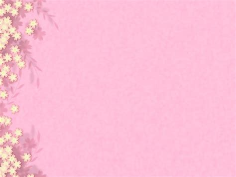 Powerpoint Background Pink Flower Parksandrecgifs Com Flower Template Powerpoint