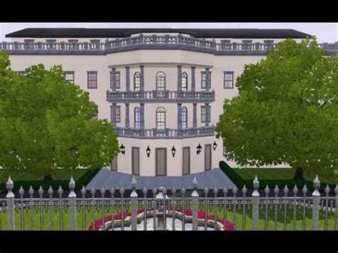 building the white house building the white house in the sims 3 youtube