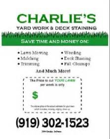 lawn care advertising templates new flyer gopher template lawnsite lawn care