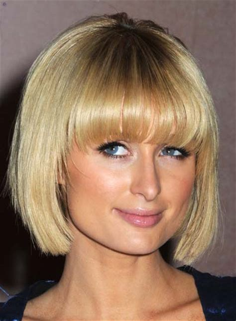 blunt cut hairstyles round faces blunt hairstyles for round faces beauty riot