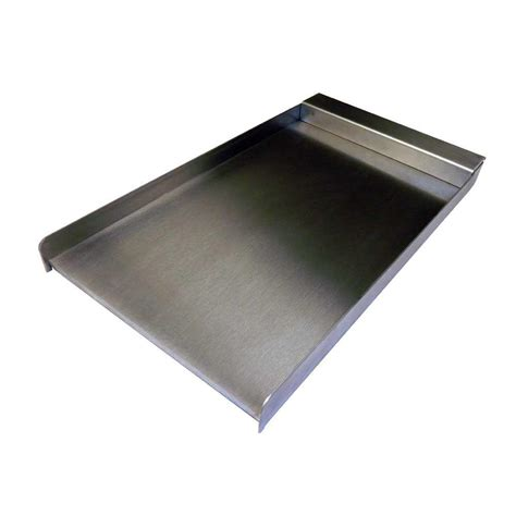 capital 12 in stainless steel drop on griddle plate psq