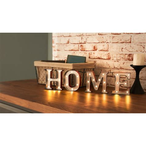 home decor words carnival led word light home home accessories lighting