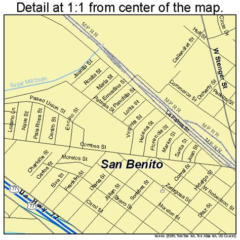 san benito texas map san benito texas map 4865036