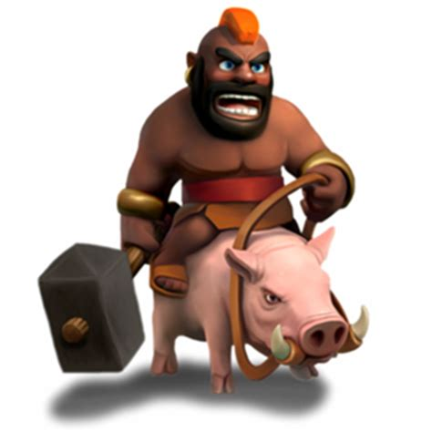 coc hog rider clash of clans cheats elixir troops and heroes guide