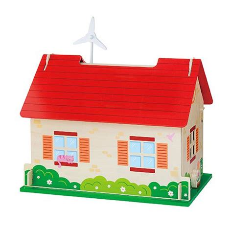eco doll house 50349 eco friendly dollhouse ningbo viga international co