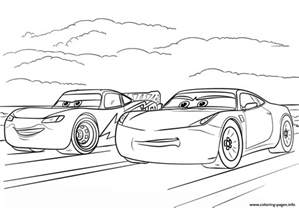 mcqueen ramirez cars 3 disney coloring pages printable
