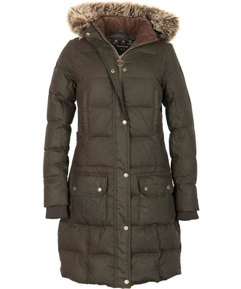 Quilted Jackets Womens Outerwear by Womens Barbour Peninsula Quilted Jacket Olive