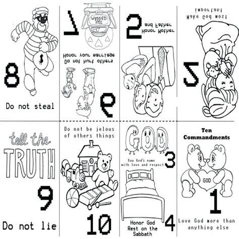 10 commandments coloring page ten commandments coloring pages for preschoolers at