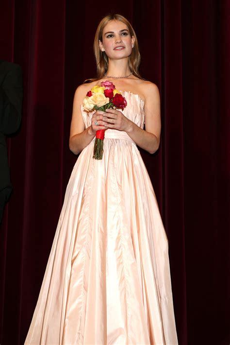 film cinderella berlin lily james photos photos cinderella premiere 65th