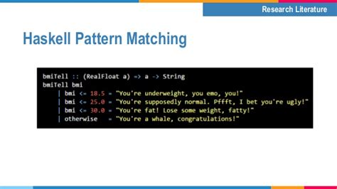 pattern matching tuples haskell domain specific language for specify operations of a