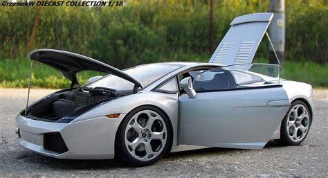 Lamborghini Gallardo Silver Lamborghini Gallardo Metallic Silver Autoart No 74574