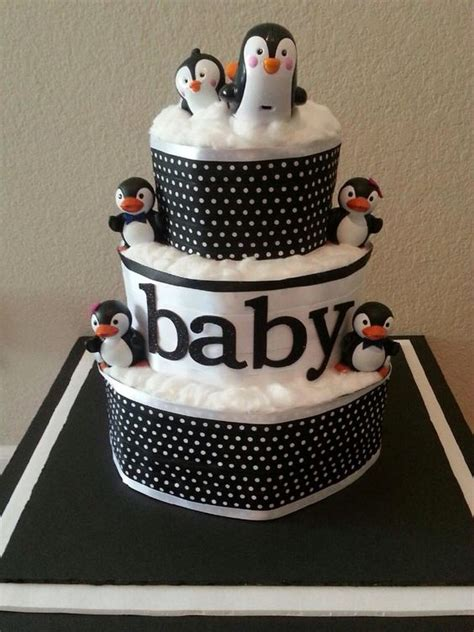 Penguin Baby Shower Decorations by Penguin Themed Baby Shower Cake Ideas By
