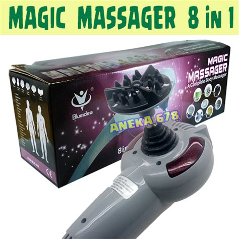 Alat Terapi Magic Massager 8 In 1 jual magic massager 8 in 1 blueidea bld 999 alat terapi kesehatan dengan 8 macam mata pijat
