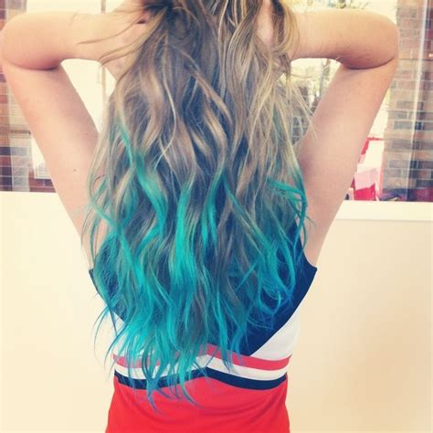 hairstyles with dyed ends hair trends 2015 10 hottest blue dip dye hair colors for