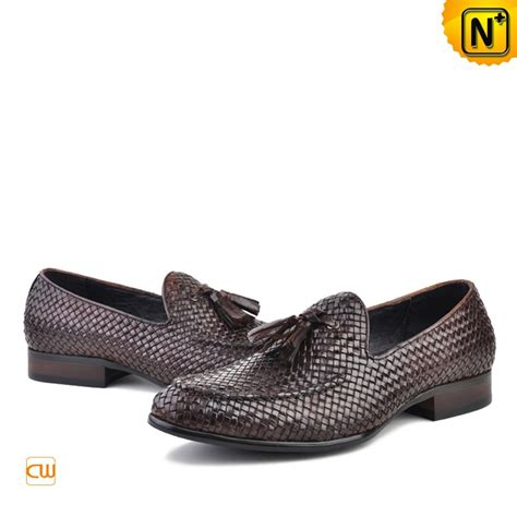 woven loafers mens mens woven leather tassel loafers cw750058