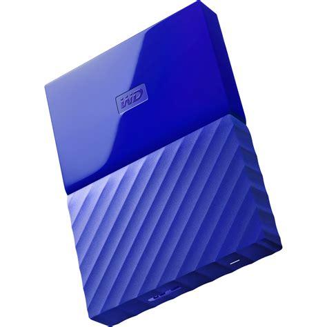 Wd My Passport New 2tb Hdd 2 Tb Hardisk External 25 Biru Aq wd 2tb my passport usb 3 0 secure portable wdbyft0020bbl wesn