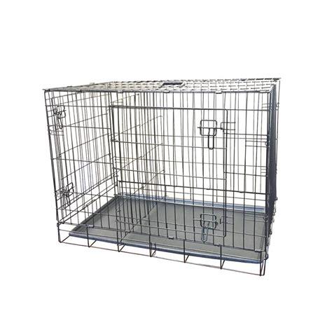 medium crate kennelmaster 36 in x 23 in x 27 in medium wire crate fkc362327 the home depot