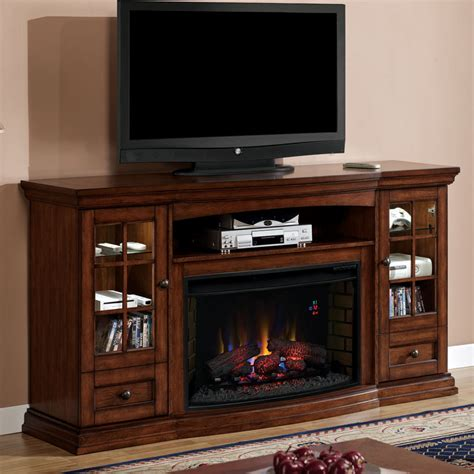 Seagate 32 in Electric Fireplace Entertainment Center in