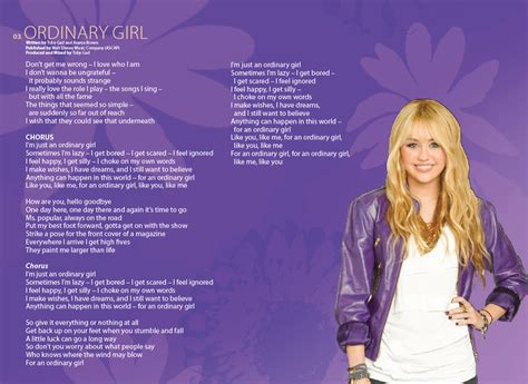 theme song hannah montana miley cyrus fan page hannah montana forever album lyrics