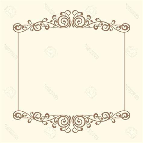 cornici vintage unique vintage frames vector stock border wedding frame image