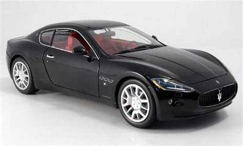 maserati model car maserati gran turismo black mondo motors diecast model car
