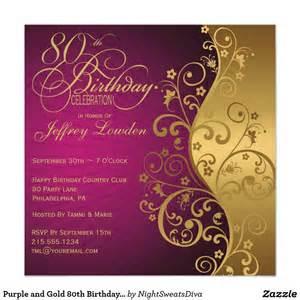 15 sle 80th birthday invitations templates ideas free sle birthday invitations