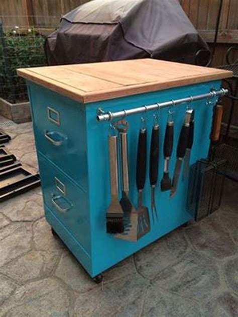 Upcycled Metal Filing Cabinet 21 Upcycled Furniture Ideas From Extraordinarily Easy To Insanely Difficult