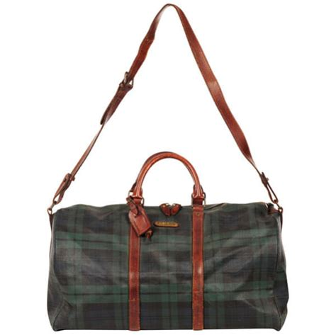 Polo Ralph Holdall polo ralph vintage s checked holdall clothing